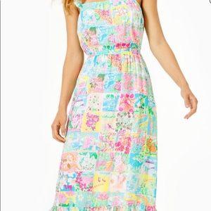 NWT Lilly Pulitzer Crista Midi Dress